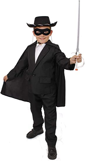 I LOVE FANCY DRESS LTD Disfraz DE Zorro para NIÑO Conjunto ...