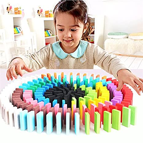 Wooden Learning Game Set -10 Colors ,Educational Toy, 100-Pieces, Multicolour