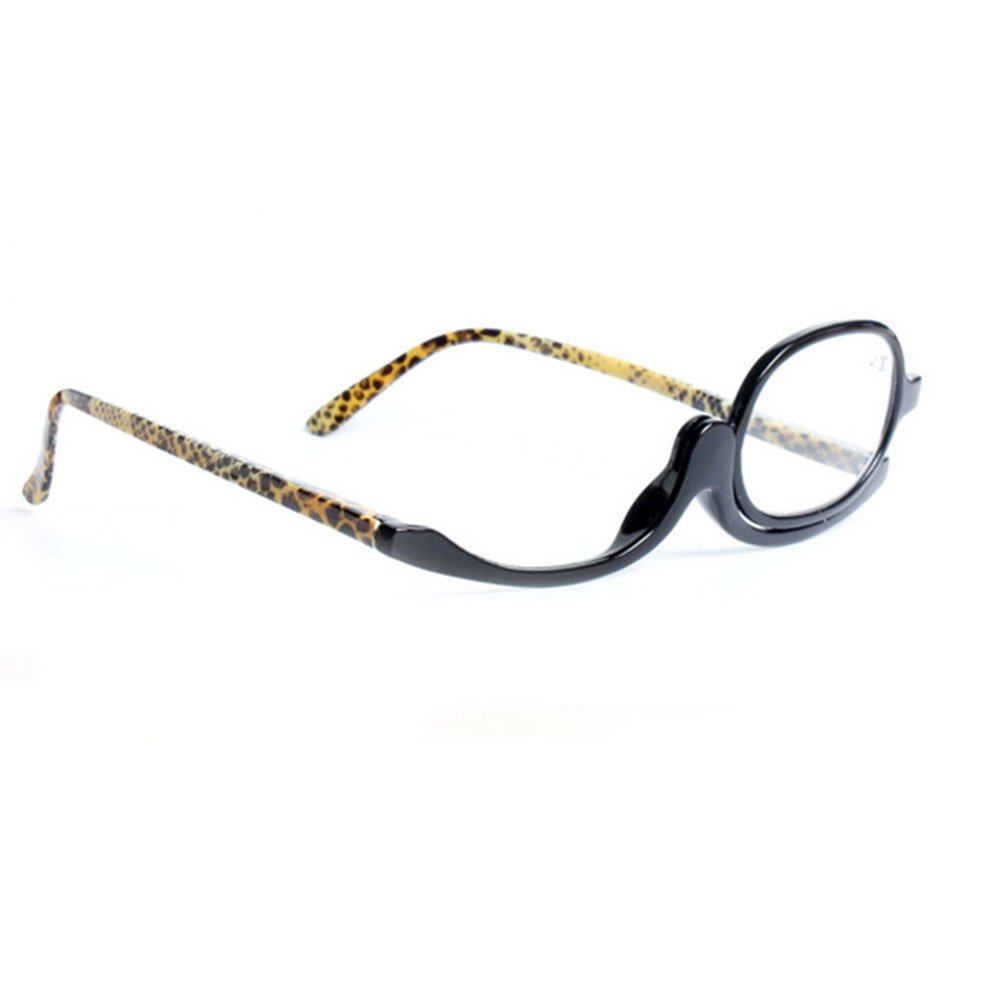 Haodasi Occhiali da lettura occhiali da lettura occhiali da lettura rotanti occhiali da donna trucco