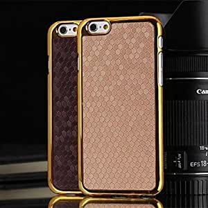 QJM iPhone 6 compatible Special Design Full Body Cases , Brown