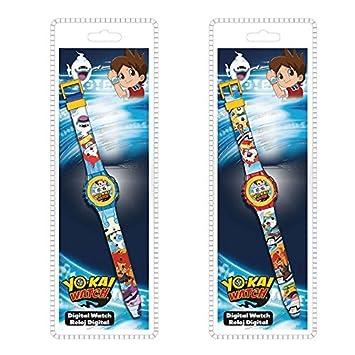 KIDS LICENSING Reloj digital Yo Kai Watch surtido: Amazon.es: Juguetes y juegos