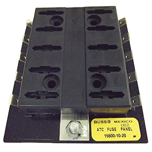 Bussmann 15600-10-20 ATC Fuse Panel