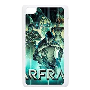 iPod Touch 4 Case White Warframe Custom FDFNHHGSD2930