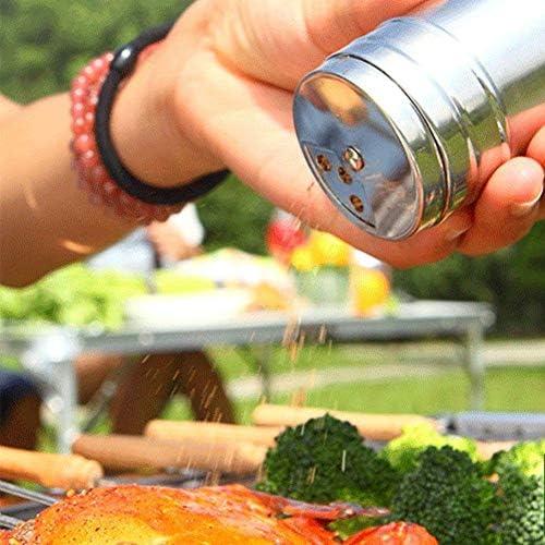 Delleu Kit d'outils pour barbecue Accessoires pour barbecue adaptés au camping en plein air dans la cour