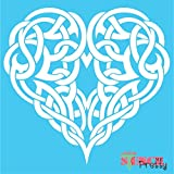 Amazon Com Stencils For Painting Celtic Tree Of Life 5 5 X 5 5