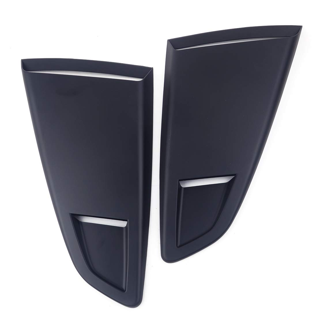 1pair Window Quarter Rear Louver Vent Scoop Cover Fit for Ford Mustang 2015-2018