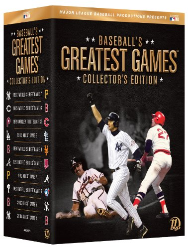 Baseball's Greatest Games: Collector's Edition [DVD] by MLB_Home Video