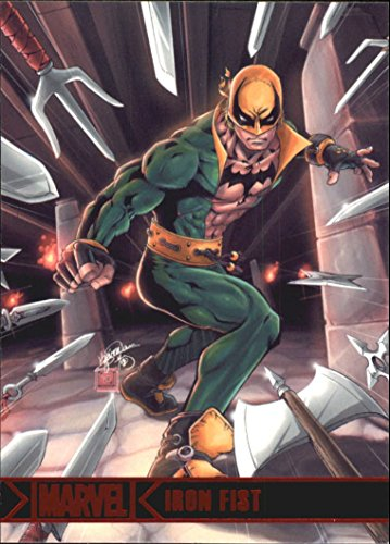 2012 Marvel Greatest Heroes #41 Iron Fist