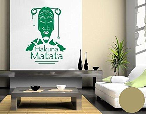 Pared de Pared Tatuajes 2013 Hakuna Matata, plástico, cobre, 60cm ...
