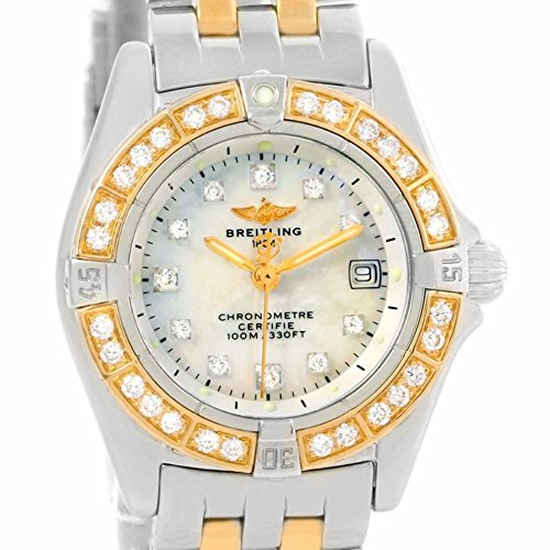 Breitling Windrider quartz womens Watch D72345 (Certified Pre-owned)