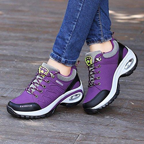 de Sintético XI para exterior morado de Zapatillas para Material deportes mujer GUA qqIawR