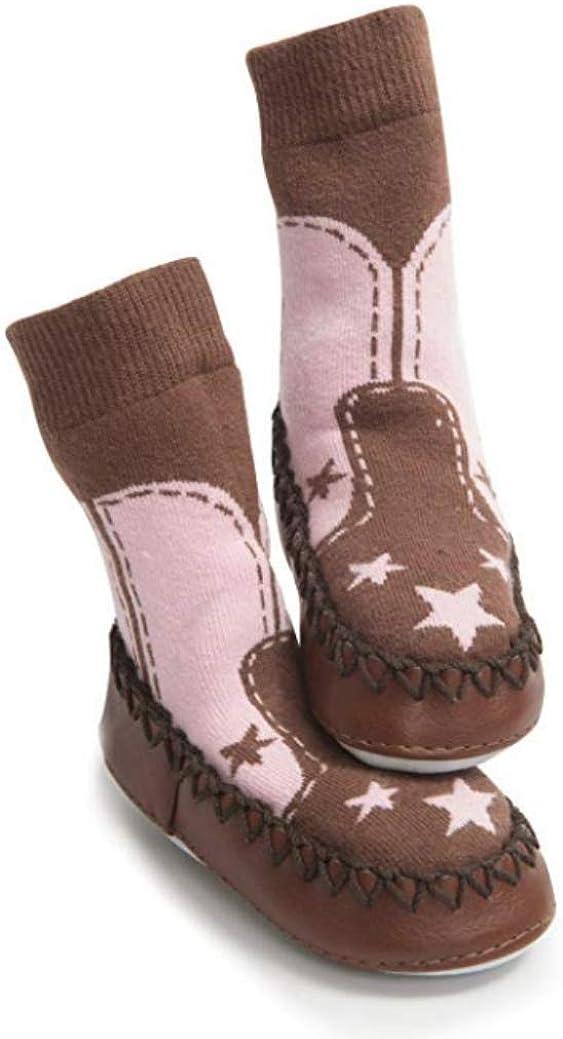 Mocc Ons Pink Cowboy, 18-24 Months