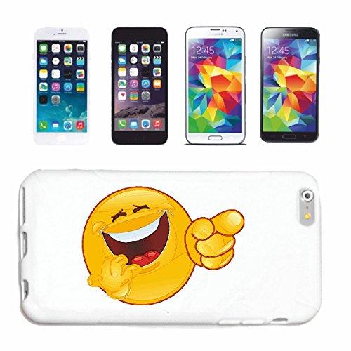 "cas de téléphone iPhone 7 ""EST MALADE RIRE SMILEY ""SMILEYS SMILIES ANDROID IPHONE EMOTICONS IOS grin VISAGE EMOTICON APP"" Hard Case Cover Téléphone Covers Smart Cover pour Apple iPhone en blanc"
