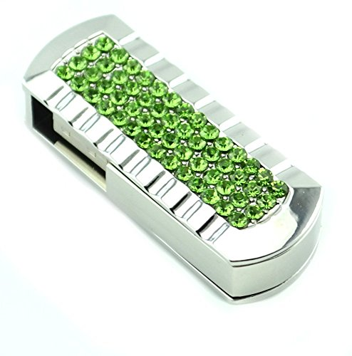 32GB Fold USB 2.0 Flash Memory Stick Pen Drive Thumb Disk Green - 9