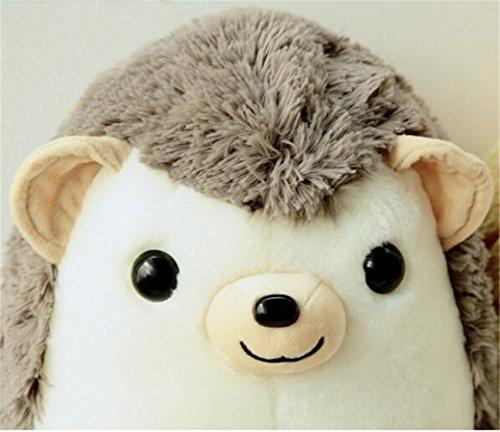 Tmrow 1pc 30cm Children Simulation Animal Plush Toy Hedgehog Stuffed Dolls (Gray) by Tmrow (Image #2)'