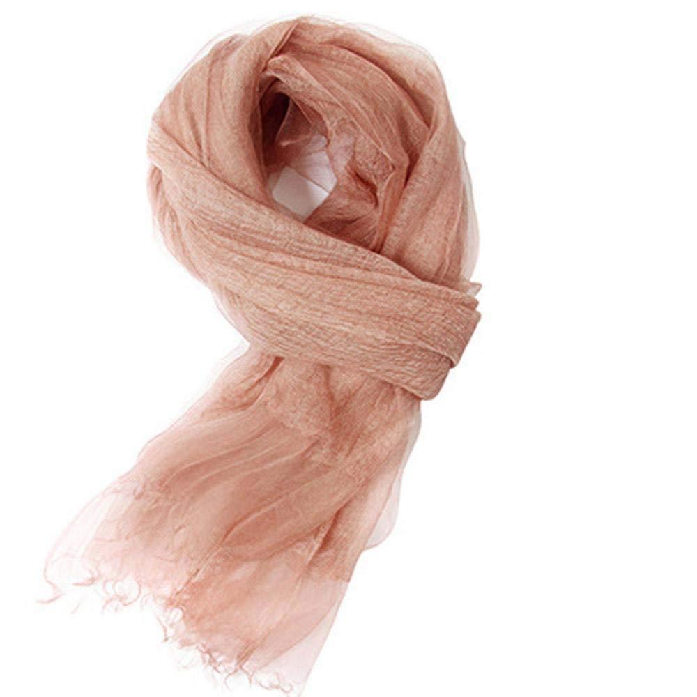 bluee Weiwei Ladies Silk Shawl Silk Scarf Slim Breathable Birthday Gift