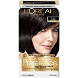 soft black hair color - L'Oréal Paris Superior Preference Permanent Hair Color, 3 Soft Black