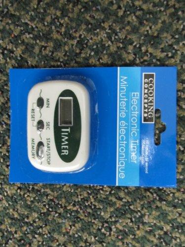 Electronic Kitchen Timer - 1 pc,