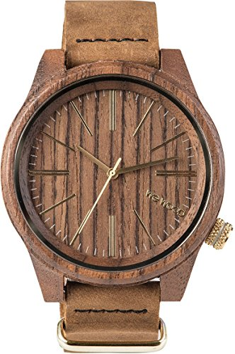 WeWOOD Torpedo Leather (Nut) Watch
