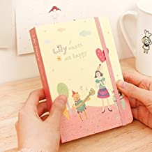 [LILY Diary] Diary Scheduler Book Journal Weekly Daily Planner + Stamp Sticker (Sweet)