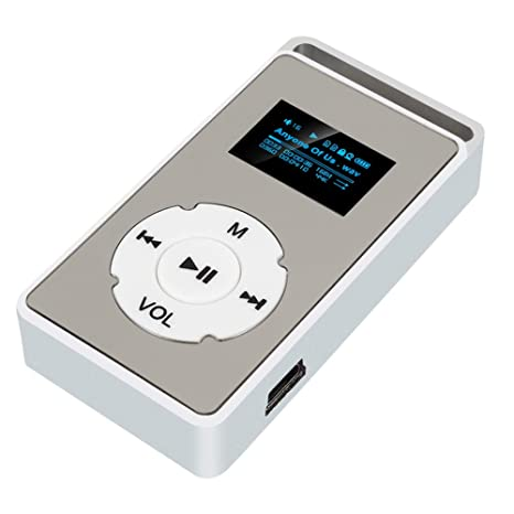 TOPmountain Reproductor De Música USB Mini Reproductor De ...