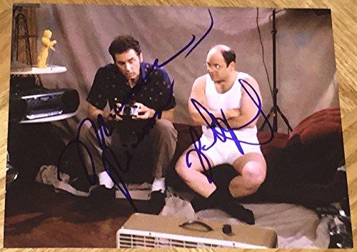 JASON ALEXANDER & MICHAEL RICHARDS SIGNED AUTOGRAPH CLASSIC SHOW SCENE PHOTO COA ()