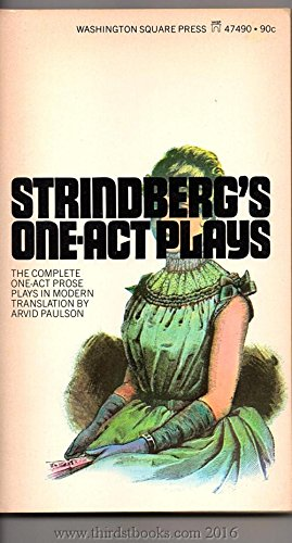 Strindberg's One-Act Plays