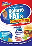 The CalorieKing Calorie, Fat, & Carbohydrate Counter 2013