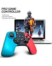 Mainstayae 8581 SWH Pro Game Controller for Nintendo Switch Console Turbo Controller Wireless Gamepad Joypad for PC Switch Controller Joystick Upgrade