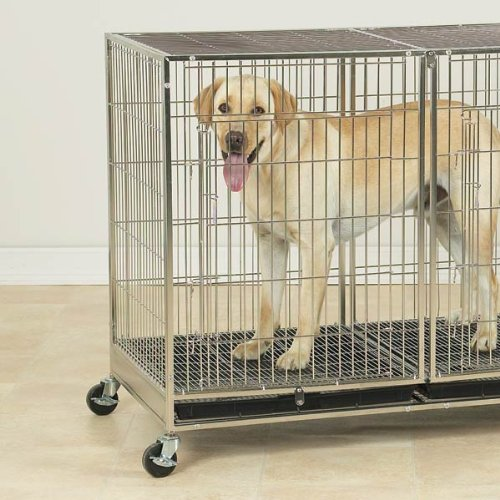 ProSelect Stainless Steel X-Tall Modular Dog Cage With