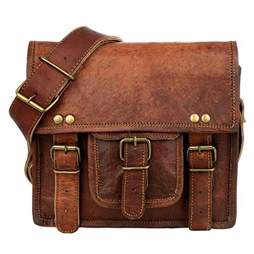 Small Brown Leather Satchel  Amazon.co.uk  Shoes   Bags 3aa6028f3a04c