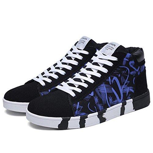 Men's Shoes Feifei Winter Wear-Resistant High Help Casual Shoes 3 Colors (Color : 03, Size : EU39/UK6.5/CN40)