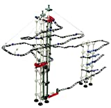 Odyssey Battery-Operated Dual-Motor Marble Run – Advanced, Fun Design Transports Marbles on Elevator! – Contains 520 Pieces +60 Marbles; for Builders Age 12+