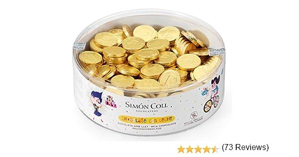 Simon Coll Monedas Chocolate Red, 50 g: Amazon.es: Alimentación y ...