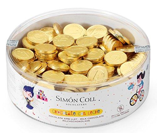 Simon Coll Monedas Chocolate Red, 50 g