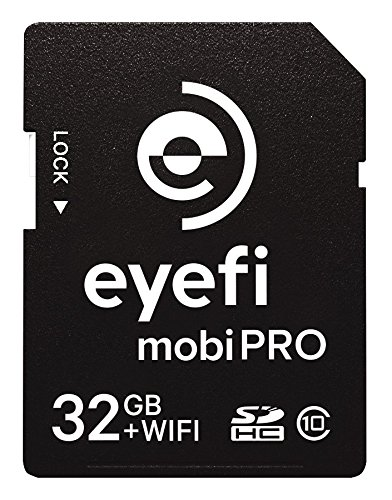 Eyefi mobiProZ-32 Mobi Pro 32GB WiFi SDHC CARD with One Year Eyefi Cloud