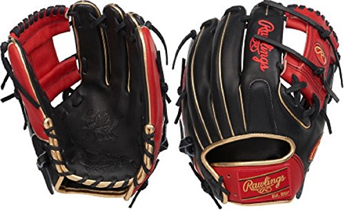 Rawlings PRO2174-2BSG Heart of the Hide ColorSync 11.5 Infield Glove Pro I Web, Conventional Back