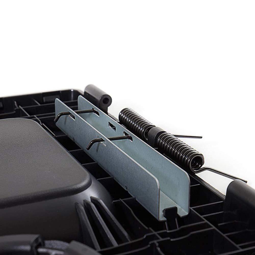 Dark Grey Center Console Lid for Chevy Silverado,Tahoe,GMC Sierra Armrest Cover Armrest Hinge Latch 19127364
