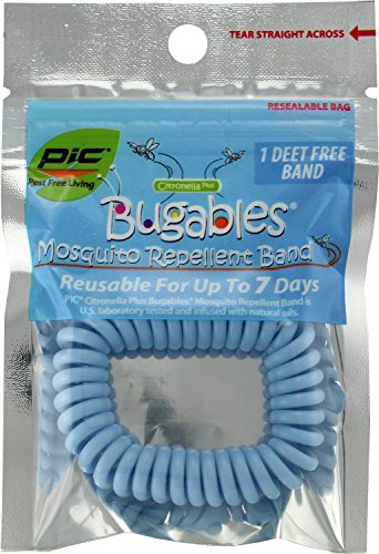 PIC Bugables Mosquito Repellent Band (Pack of 10)