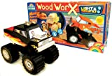 : Guidecraft G17262 Wood WorX Light & Sound Monster Truck Model Kit