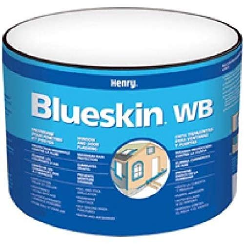 Excellent Adhesion To Prepared Substrates of Concrete Pr Block HENRY// MONSEY HE201WB976Blueskinself-Adhesive Flash Membrane A Self-Adhering Membrane Consisting of An SBS Rubberized Asphalt Compound Which is Integrally Laminated To A Blue-Engineered Film