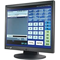 Logic Controls Monitor: 17 Resistive Touch, USB (P/N LE1017)