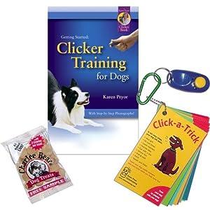8. Karen Pryor Clicker Training for Dogs Kit