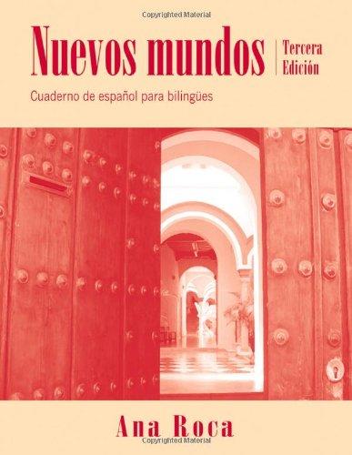 Nuevos Mundos Cuad.De Espanol Para...