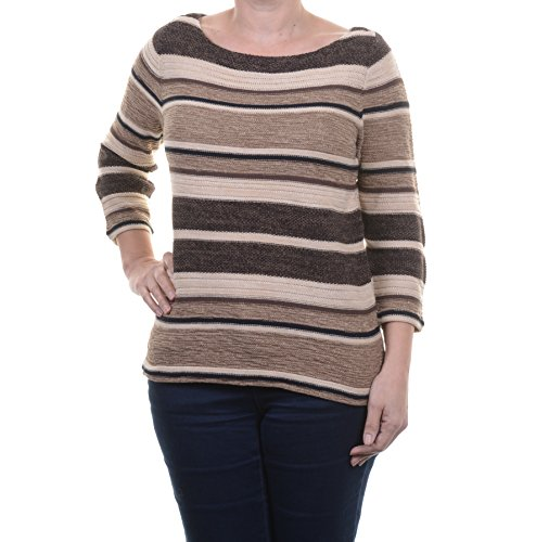 LAUREN RALPH LAUREN Women's Knit 3/4 Sleeve Pullover Sweater Size -