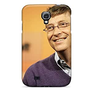 New Jeffrehing Super Strong Bill Gates Tpu Case Cover For Galaxy S4