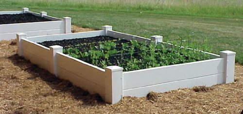 Dura-Trel 11180 4 by 4 by 1-Feet Raised Planter Bed by Dura-Trel, Inc.
