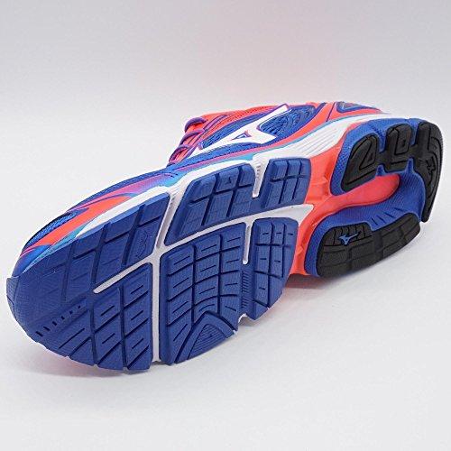 Mizuno para Azul W Inspire 13 Deportivo Mujer Calzado Wave rxaqr