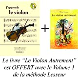 Volume 1 - J'apprends le Violon - méthode Lesseur