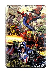 Alicia Russo Lilith's Shop JeremyRussellVargas Case Cover For Ipad Mini 3 - Retailer Packaging Marvel Protective Case